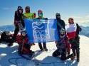Pomorzanie na Mont Blanc