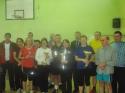 Finał X Powiatowych Mistrzostw Nauczycieli w Tenisie Stołowym