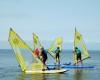 UKS w Jastarni na windsurfingu