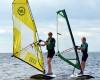 Windsurfing z UKS w Jastarni
